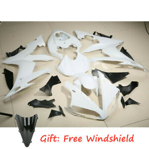 Unpainted ABS INJECTION Bodywork Fairing Fit For Yamaha YZF YZF-R1 YZFR1 04-06
