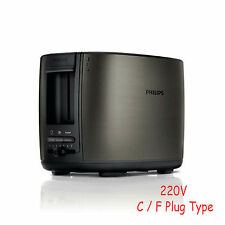 NEW Philips HD2628/89 Toaster 2 Slot Safety Shut Off Adjustable Control 220-240V