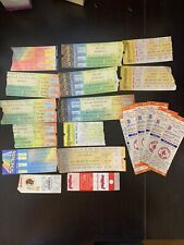 Lot Of 20 Ticket Stubs 70-80Th Red Sox/ Phillies/ Cat Stevens/ Crossby, Stills &