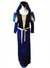 New Renaissance Medieval Regal Princess Tudor Period Fancy dress Costume 14 16