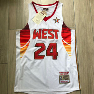 Kobe Bryant 24 Los Angeles Lakers 09 All Star WEST Hardwood Classic Jersey White