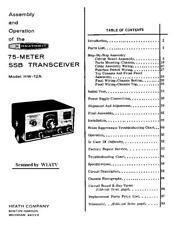 Assembly & Operation Manual-Anleitung für Heathkit HW-12 A 75 Meter SSB