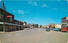 Grayling MI~Michigan Avenue~Sporting Goods~Ammunition~Sodas~Red Chevy Pickup~'68