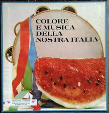 Colore e Musica della Nostra Italia Anno: 1971 1 Volume da 10 LP
