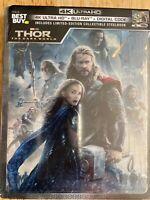 Thor Dark World Steelbook (4K UHD + Bluray) No digital