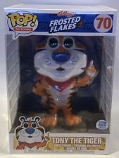 "Funko Pop Kelloggs Cereal Frosted Flakes Tony The Tiger 10"" inch Exclusive"