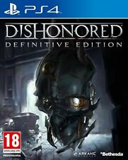 DISHONORED THE DEFINITIVE EDITION - PS4 - NEW SEALED - SAME DAY DISPATCH