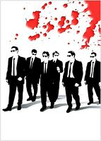 Reservoir Dogs Classic Movie Large Poster Art Print Maxi A1 A2 A3 A4