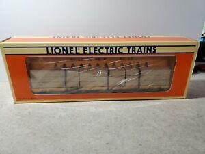 Lionel 6-16397 Milwaukee Road I-Beam Flatcar New In Box