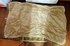 New Orvis Tempurpedic Dream Lounger plush faux fur rectangular dog bed cover XL