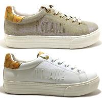 ALVIERO MARTINI 1 CLASSE Junior Geo scarpe sneakers donna pelle zeppa inglesina