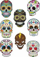 Waterslide Transfer Day of Dead Sugar Skulls RC Slotcar Various Scales Folk Art