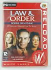 Law & Order Double Or Nothing Pc Computer Game New Sealed