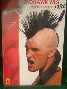 Mohawk Wig - Skin cap with hair