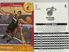 Panini NBA (Adrenalyn XL) 2013/2014 - #031 Chris Bosh - Golden Foil Signature