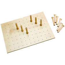 Rev-A-Shelf 12 Peg Board for 30 x 21in Drawers, Natural Maple (Open Box)(3 Pack)