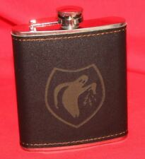 Psyop / Ghost Army Stainless Wiskey Flask