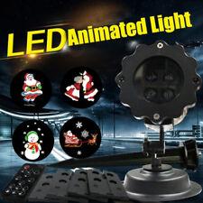 LED Laser Licht Projektor Garten Weihnachten Lichterkette Lichtervorhang Xmas