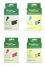 Graphicjet cartucce inkjet compatibili Brother LC-1280XL B/C/M/Y multipack 4 pz.