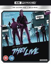 They Live Blu-ray (2019) Roddy Piper, Carpenter (DIR) cert 18 3 discs ***NEW***