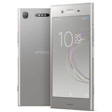Teléfonos móviles libres Sony plata con 64 GB de almacenaje