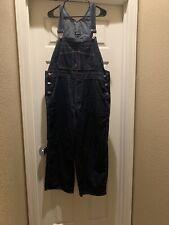 Joseph Dark Blue Denim Overalls Large