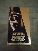 Star Wars Trilogy Special Edition Gold VHS Box Set