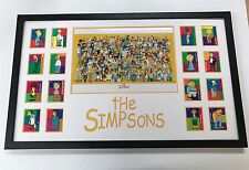 The Simpsons Collectors Frame (Poster Print And Trading Cards)