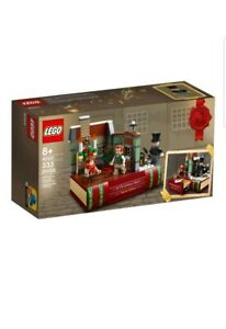 🎁🎄LEGO 40410 A CHRISTMAS CAROL CHARLES DICKENS BOOK VIP EXCLUSIVE NEW FREE P&P