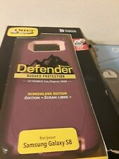 OTTER BOX DEFENDER FOR SAMSUNG GALAXY S8 SERIE RUGGED PROTECTION