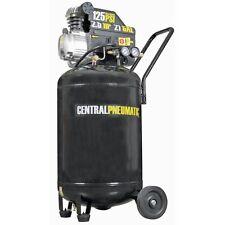 Air Compressor 2.5 Hp Motor Portable Design 21 Gallon 125 Psi Cast Iron Vertical
