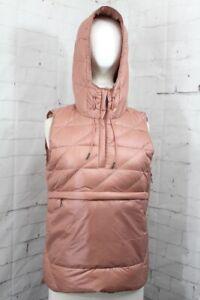 Holden Side Zip Down Vest, Women's Size Medium, Dusty Rose New