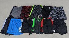LOT OF 11 SHORTS UNDER ARMOUR NIKE CLOTHING LOT SIZE YOUTH BOYS MEDIUM