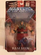 "Masters Of The Universe He-Man TV (Bronze) Ram Man 6"" Figure Mattel 2002 opened"