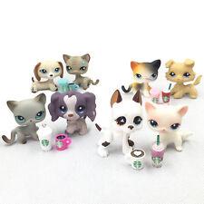 Littlest Pet Shop LPS Random Lot 4Pcs (1 Cat + 1 DOG + 2 Accessories) Gift Bag
