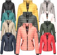 Marikoo Damen Herbst Winterjacke Jacke Steppjacke Übergangsjacke LOLA  gesteppt