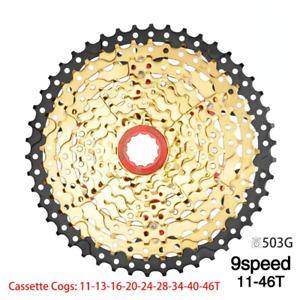 Bicycle MTB Cassette 9S 10S 11S Speed 42/46/50T Mountain Bike Flywheel Sprocket