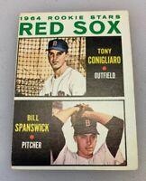 1964 Topps # 287 Tony Conigliaro Baseball Card Boston Red Sox Rookie RC Miscut