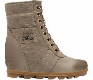 Sorel Women's Lexie Wedge casual Boots - Khaki II