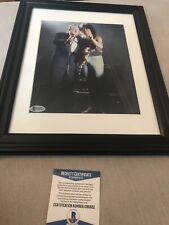 Autographed Les Paul 8x10 Photo Signed To Ira BAS Cert Very Light Pen Signature