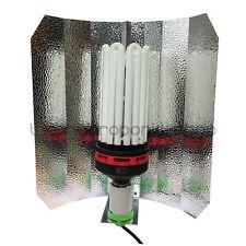 OMEGA CFL 300w Red Spectrum Bulb Euro Shade Grow Light Kit Hydroponics
