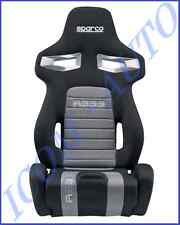 HABITACLE SIEGE BAQUET AUTO SPARCO R333 RABATTABLE NOIR / GRIS