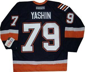 New York Islanders Alexi Yashin Throwback CCM Navy Jersey New tags