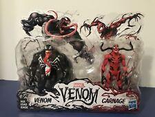 "Hasbro Marvel Venom & Carnage 6"" Action Figure 2 Pack - Hot & Rare"