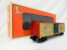 Lionel 6-26706 Christmas Boxcar w/ Lights Illuminated Holiday Gold Red 2000 C8