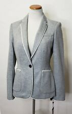 Tommy Hilfiger One-Button Jacket Gray Jacket Blazer Size 6