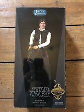 Sideshow héroes de la rebelión han solo exclusivo contrabandista: Tatooine afssc 210