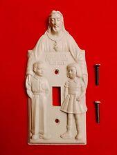 JESUS Light Switch Cover - Atheism Satanic Anton Lavey Baphomet Pentagram 666