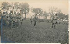 Carte Photo Guerre WW1 - Revue de Troupes - GV 55