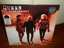 "Queen + Adam Lambert Live Around the World EP LP + 7"" 2021 RSD Brand New"